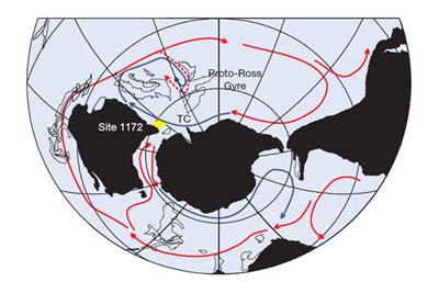 Oceaanstromen blijken bepalende factor voor het klimaat Antartica Zuidpool Peter Bijl invloed van Co2 hermostaat van de aarde