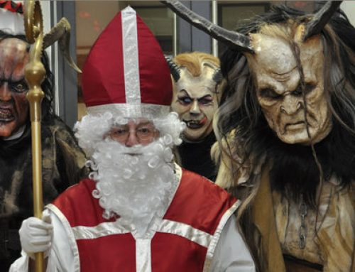 En zo ziet Zwarte Piet er in Oostenrijk uit