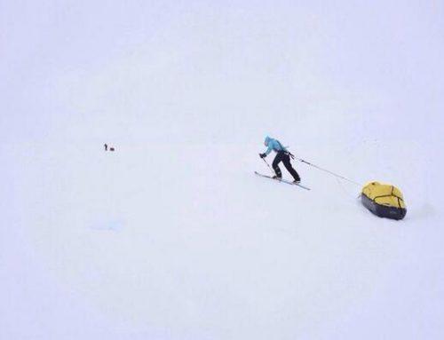 Arctic March Dutch climate journalist Bernice Notenboom fails miserably