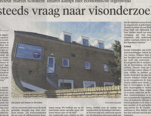 Zelfs IJmuiden leest Climategate.nl over zeeonderzoek met korrel zout van Imares