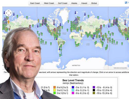 Pier Vellinga's schatting van zeespiegelstijging – een factor 5 te hoog?