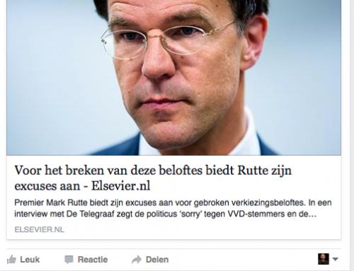 Mark Rutte (VVD) houdt wel verkiezingsbelofte: windmolens draaien op subsidie