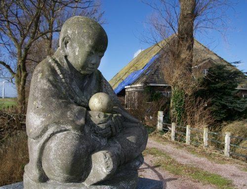 De Intratuin-Boeddha komt van auteur Brave New World