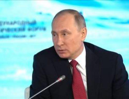 Scepsis breekt door op 31 maart 2017: Poetin spreekt en Amerika beweegt
