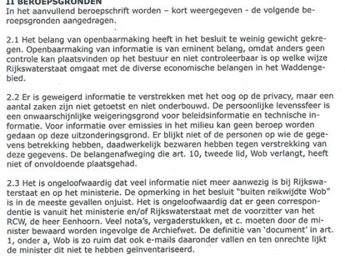 Sieben Poel (Rijkswaterstaat) de cel in voor acquisitiefraude via misleidende omissie?