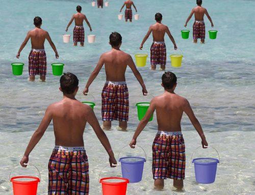 Water naar de zee