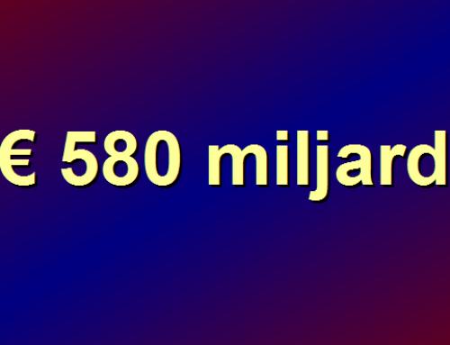 € 580 miljard