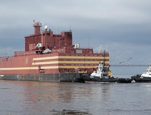 Rusland neemt drijvende kerncentrale in gebruik