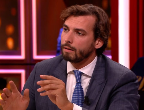 Thierry Baudet versus Jesse Klaver in klimaatdebat
