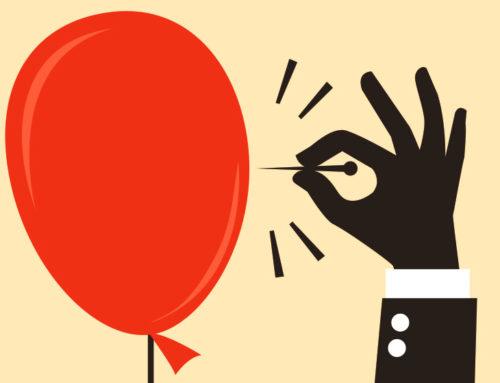 De ballon van het klimaatalarmisme wordt langzaam doorgeprikt