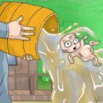 Gasloos is het kind met het badwater weggooien
