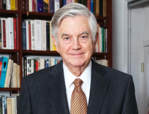 Dankwoord van Frits Bolkestein bij ontvangst rapport 'Kosten Energieakkoord'