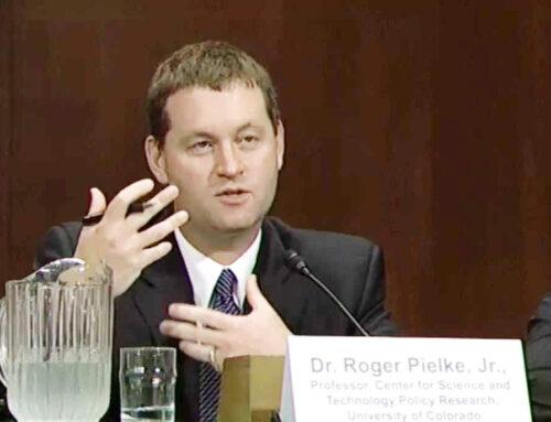 Roger Pielke jr: slachtoffer van Amerikaans klimaatlysenkoïsme