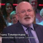 Frans Timmermans wil praten met klimaat'ontkenners'