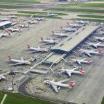 Britse luchthavens moeten sluiten om het klimaatdoel van 2050 te bereiken