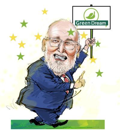ideologen klimaathysterie coronacrisis Timmermans, gaat de EU vooralsnog stug door op de doodlopende weg door de absurde energietransitie af te dwingen.