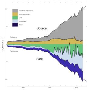 De mondiale CO2-huishouding: mooie getallen, geveinsde zekerheid, maar twijfelachtig de kennis over de processen terrestrische CO2-flux is ontoereikend