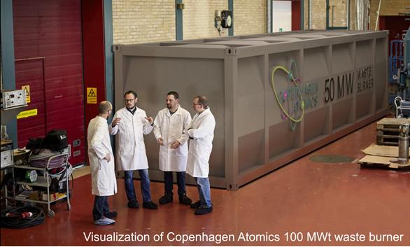 Uitnodiging Online Meet & Greet met thorium startup Copenhagen Atomics thorium molten salt energy thorium msr foundation 1 mw test reactor