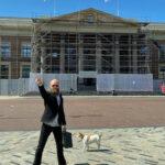 Advocaat Spong verdedigt Rypke Zeilmaker in diens rechtszaak tegen Friese windmolenlobby