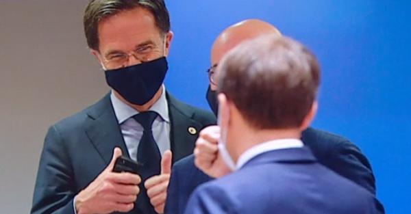 Rutte zette de eerste van drie fatale handtekeningen federale staten hakken in het zand zetten Europese muntunie Rutte de Matheo Solution