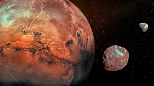 Mars aarde planeet zon NASA Mars kent geen magnetisme