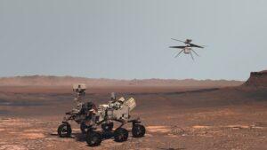 De reis naar planeet Mars en het doel van het onderzoek ruimtevaartuigen in een baan om de 'rode planeet' ruimtevaartnaties
