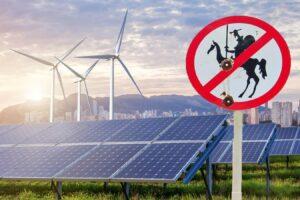 Overhaaste energietransitie verandert niets aan opwarming Aarde. Het rendement van een windmolen is minimaal bij windkracht 3 windturbines