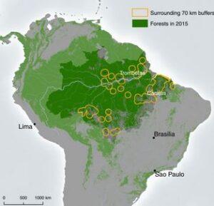 Hier schone energie elders vervuiling, mijnbouw Het beschermen van natuur en biodiversiteit vormt een argument in de klimaatdiscussie