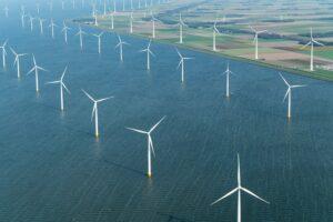 Windturbines zijn medeverantwoordelijk voor de opwarming van onze atmosfeer energietransitie Global Warming onderliggende zeewater