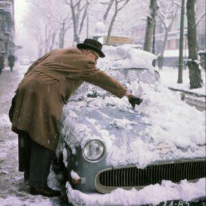 Madrid in de sneeuw. Maar hoe was het destijds in Barcelona? Het weer plaatst ons  voor verrassingen Zou het voor klimaat anders zijn?