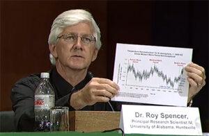 Nee, Roy Spencer is geen klimaatontkenner Ik geloof dat het klimaatsysteem is opgewarmd CO2-uitstoot verbranding van fossiele brandstoffen