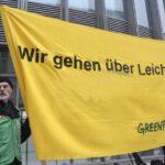 Greenpeace gaat over lijken?