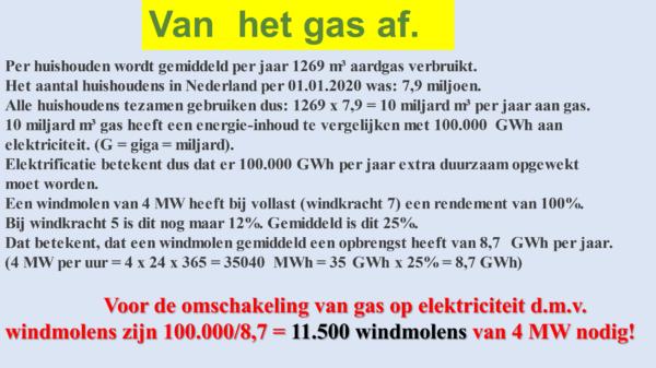 Energietransitie in de regio 'Food Valley' en de gevolgen van de energietransitie in het algemeen RES in de Food Valley windturbines