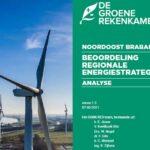 Groene Rekenkamer: Windenergie Noordoost Brabant