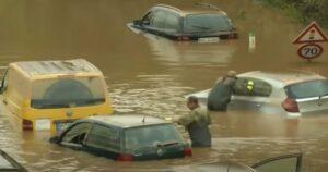 Duitse klimaatonderzoekers zijn er niet mee eens: recordoverstroming kan niet worden verklaard door klimaatverandering weersomstandigheden