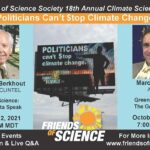 Politicians Can't Stop Climate Change – Free Online Events with Dr. Guus Berkhout and Marc Morano